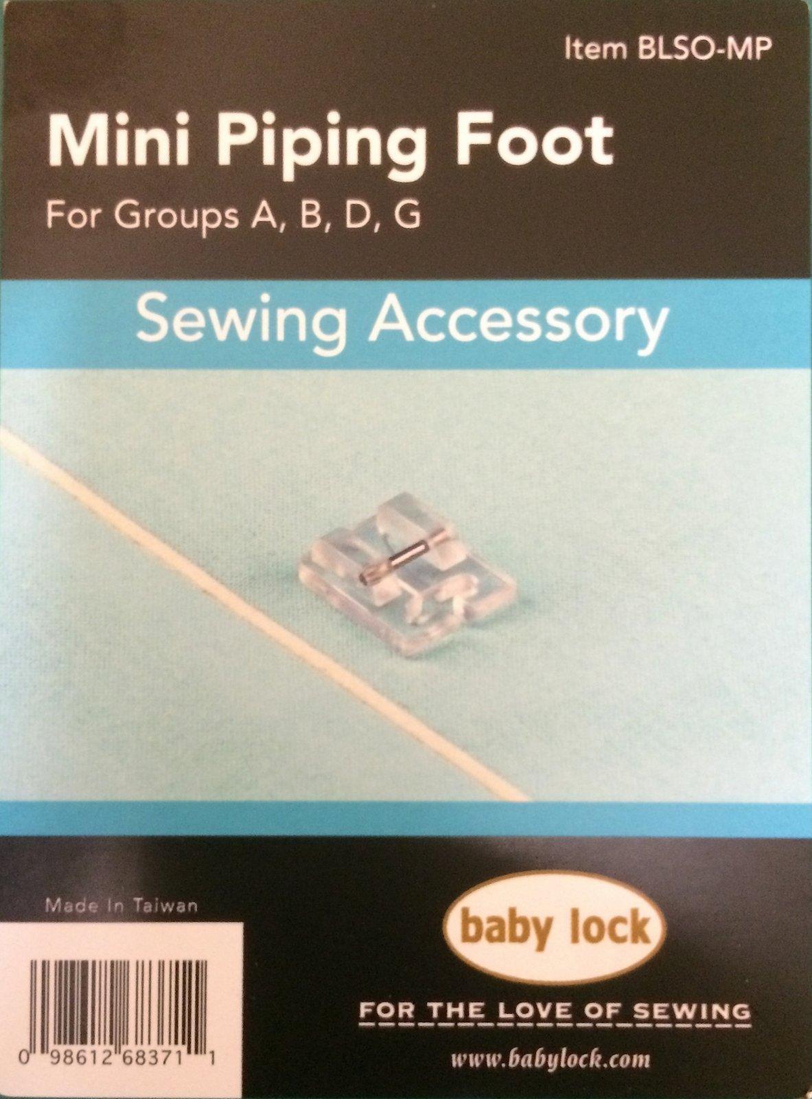 Mini piping Foot