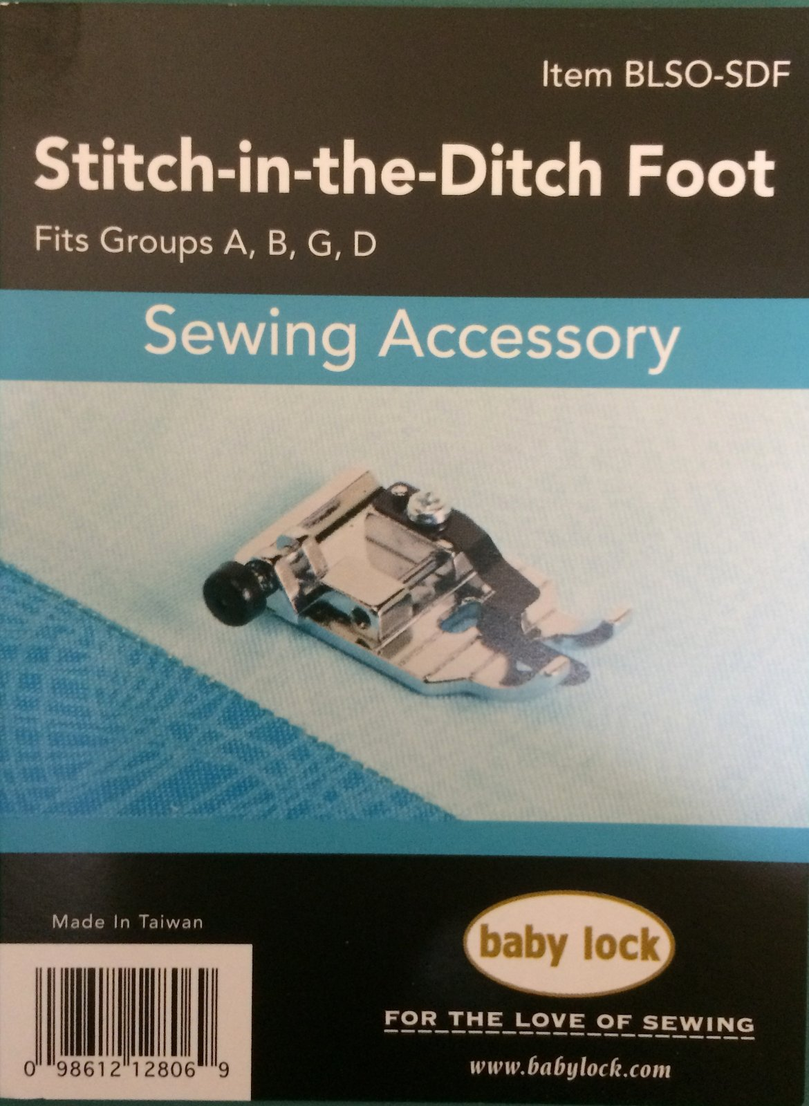 Stitch-In-The-Ditch Foot