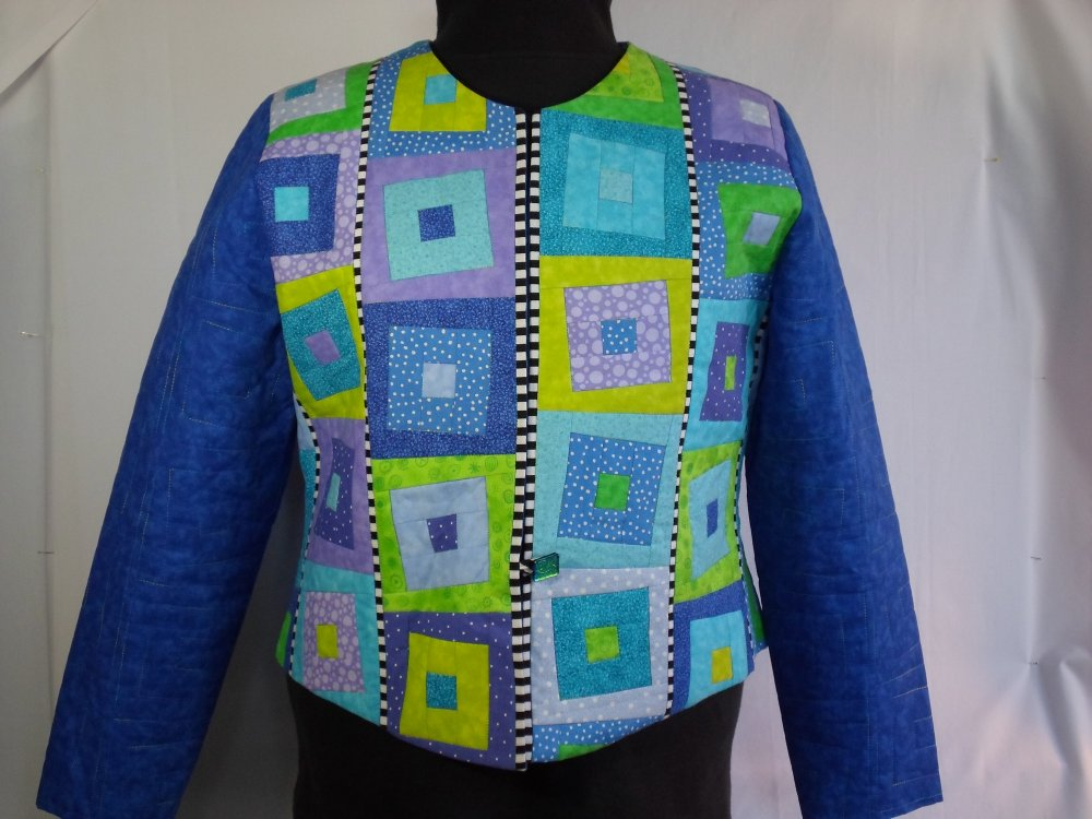 Skipping Squares Jacket