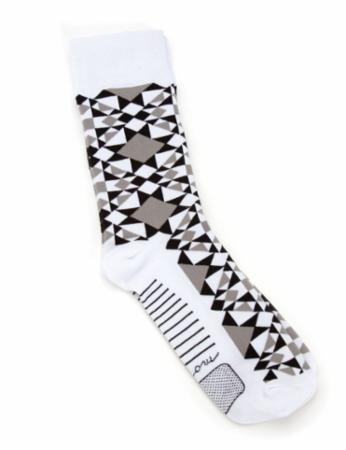 Modern Bulding Blocks Socks