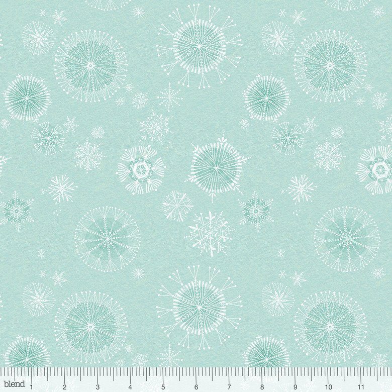 Snow Fun - Snowy Day Blue