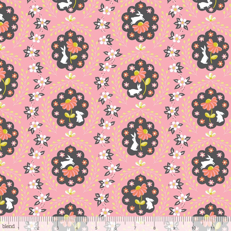 Born Wild Bunny Patch Pink