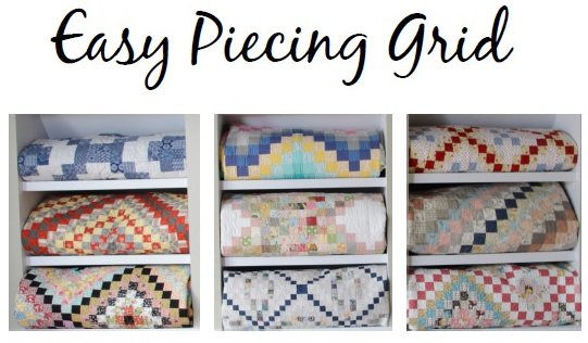Easy Piecing Grid - 1.5 Finished