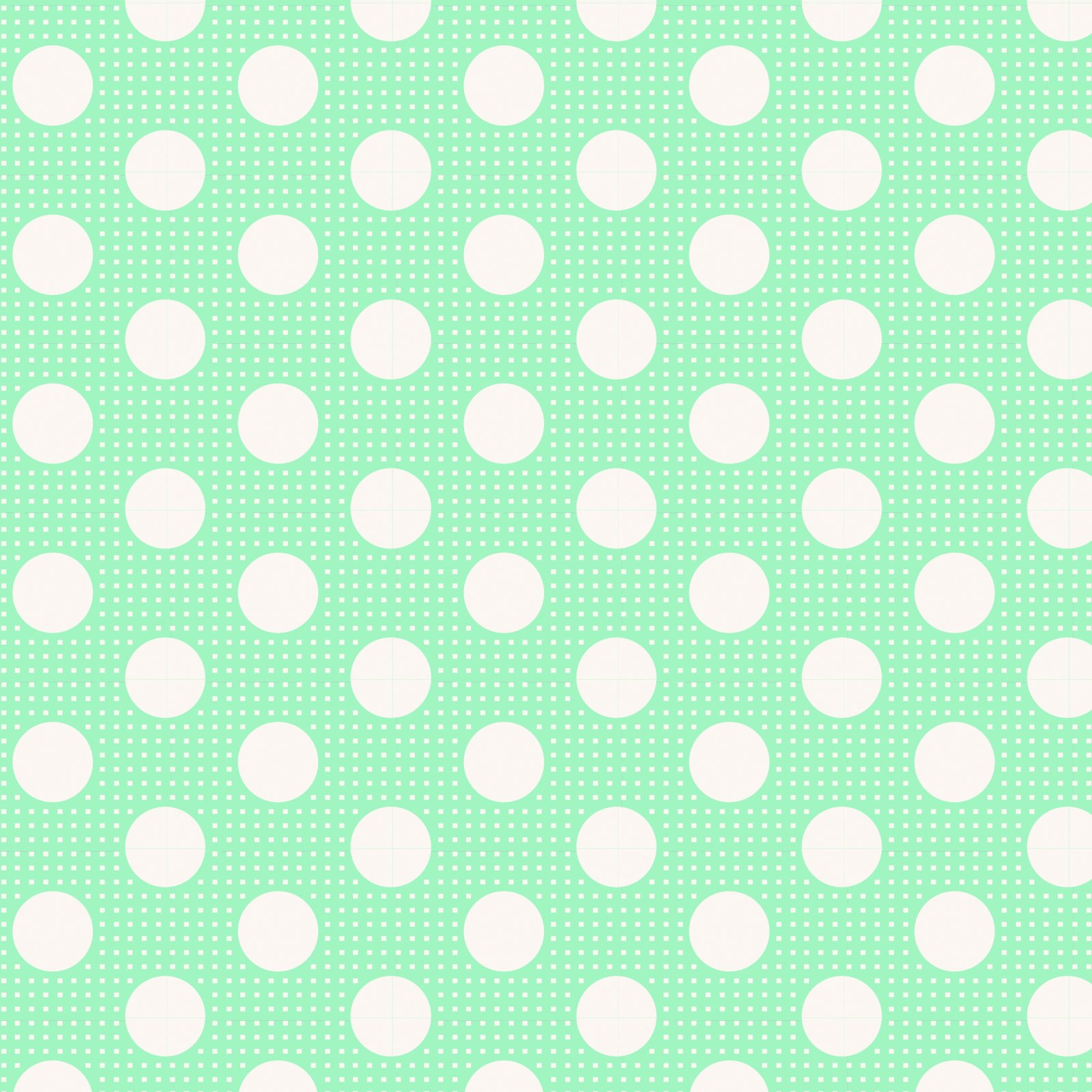 Tilda - Medium Dots Teal