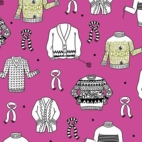 Wool Ewe - Sweaters Hot Pink