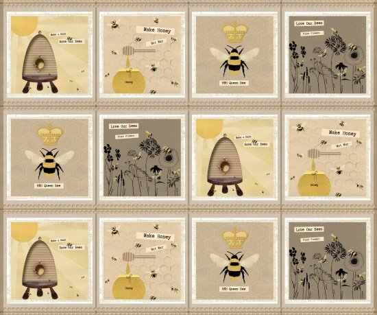 Save Our Bees Blocks-Multi