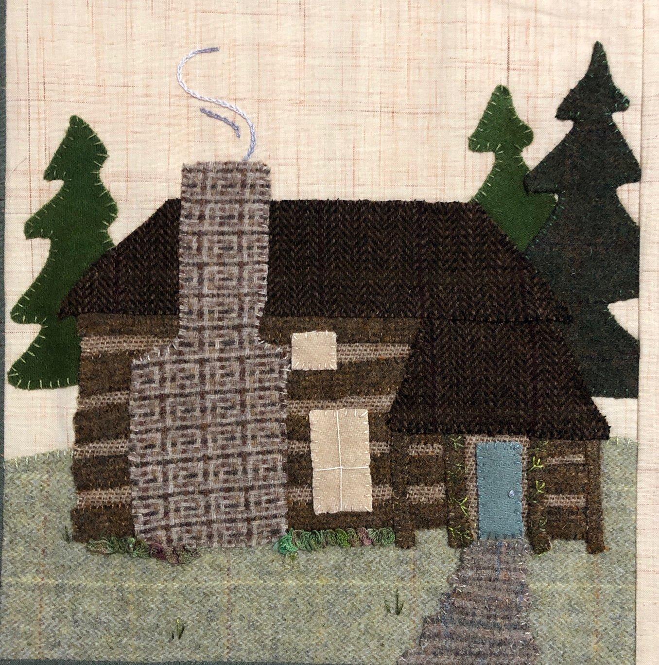 It Takes A Village - Cabin Block Pattern