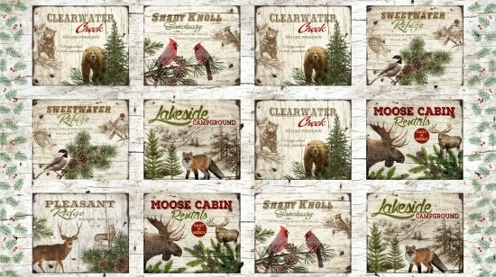 Moose Lodge Panel