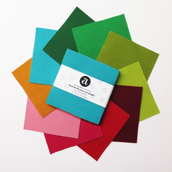 WoolWerks - Merry & Bright 10 Squares