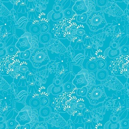 Sun Print 2016 - Blue Outlines