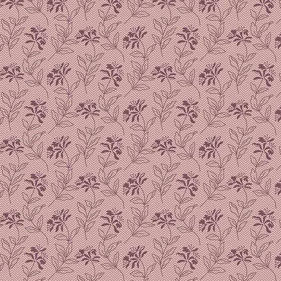 Bed of Roses - Sage - Lilac