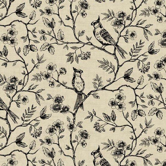 Botanica Birds on Vine - Neutral