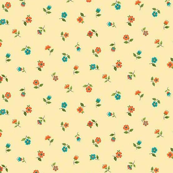 Bloom - Floral Scatter - Brown