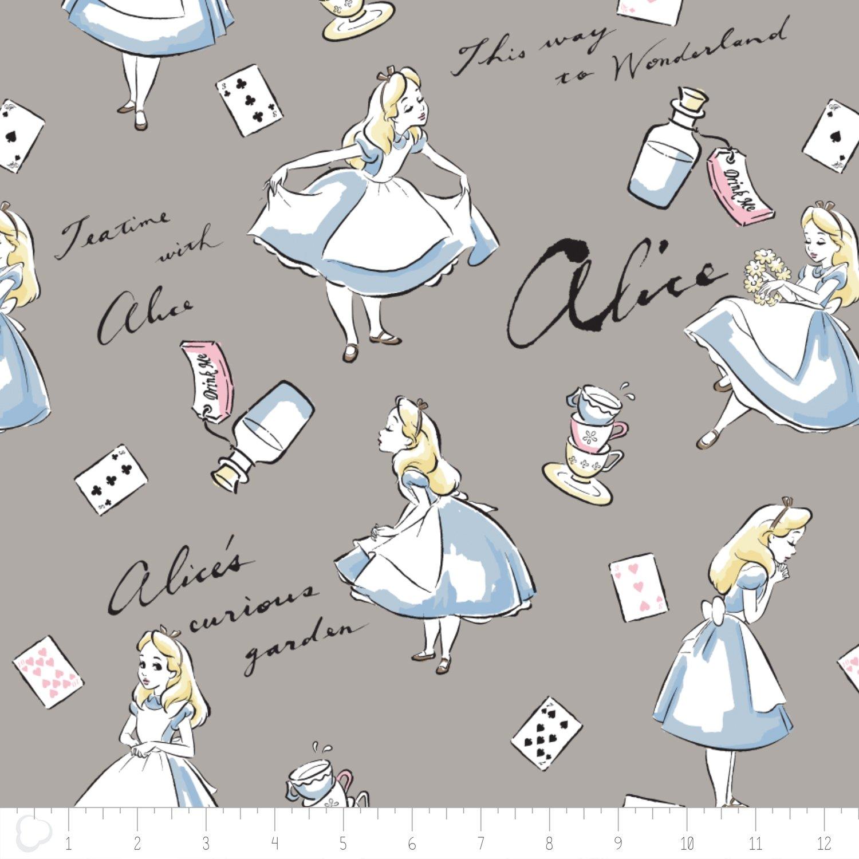 Alice in Wonderland Flannel