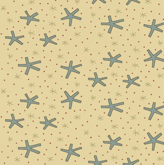 Large Snowflakes - Cream