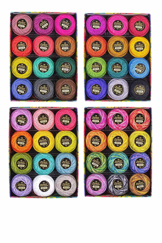 Alison Glass + WonderFil Perle Cotton Thread Boxes