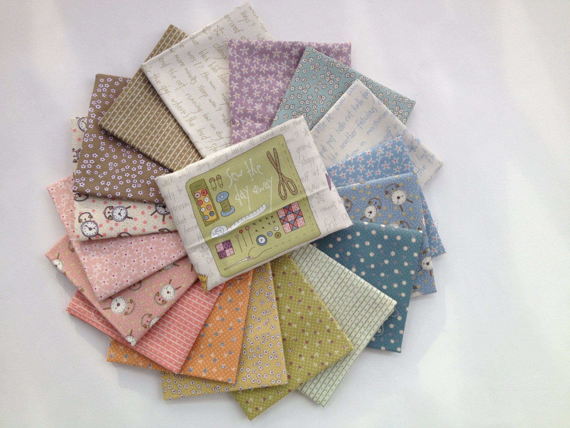 All in a Day Fat Quarter Bundle