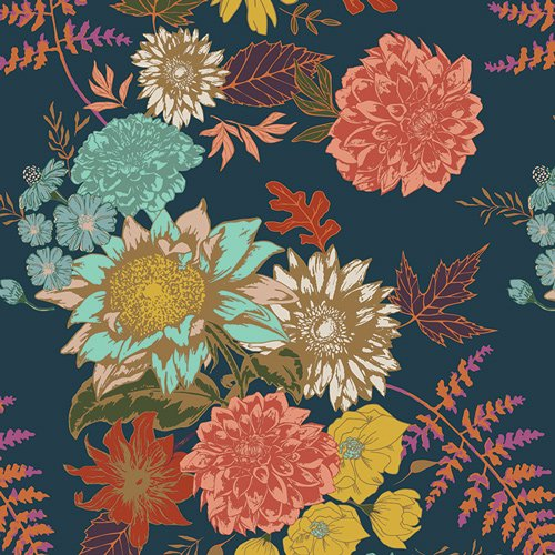 Autumn Vibes - Floral Glow - Twilit