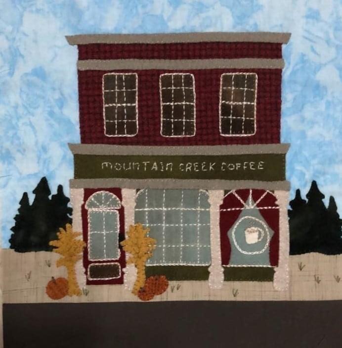 It Takes A Village 2021- Coffee Shop Block Pattern