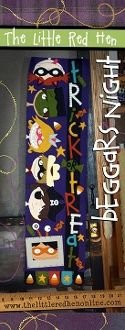 Beggar's Night Wool Applique Pattern
