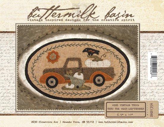 Mini Vintage Truck Through the Year - September (Kit)