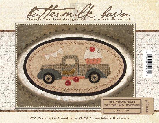 Mini Vintage Truck Through the Year - November (Kit)