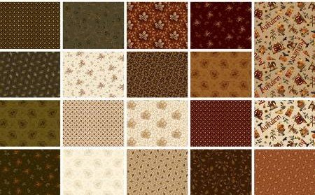 Buttermilk Autumn Fat Quarter Bundle