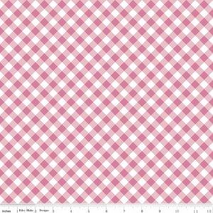 Wonderland 2 - Gingham Pink