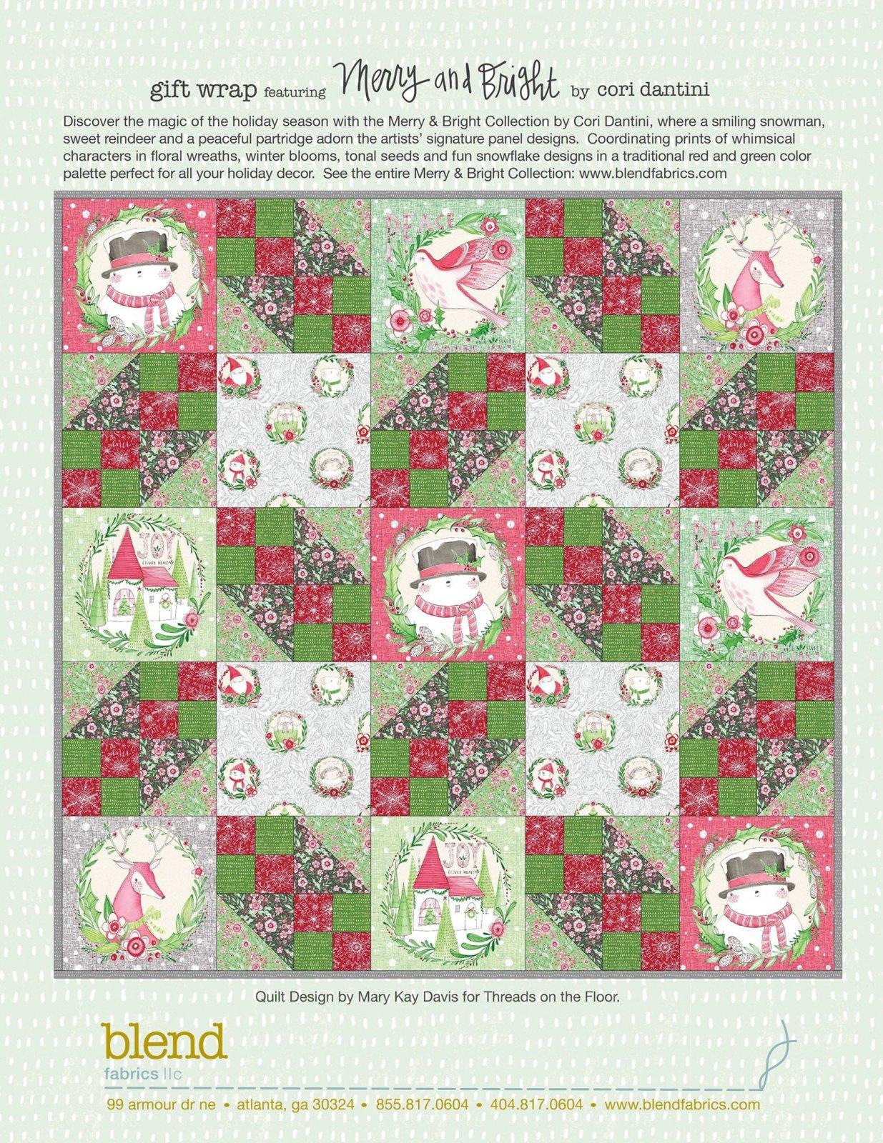 Merry & Bright Quilt Kit