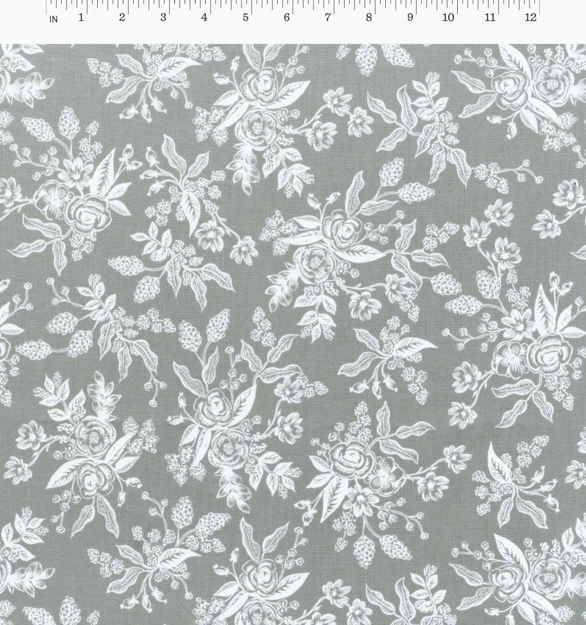 English Garden - Toile - Gray