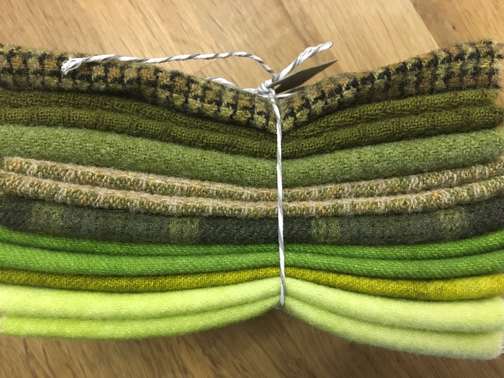 Green With Envy Wool Bundle