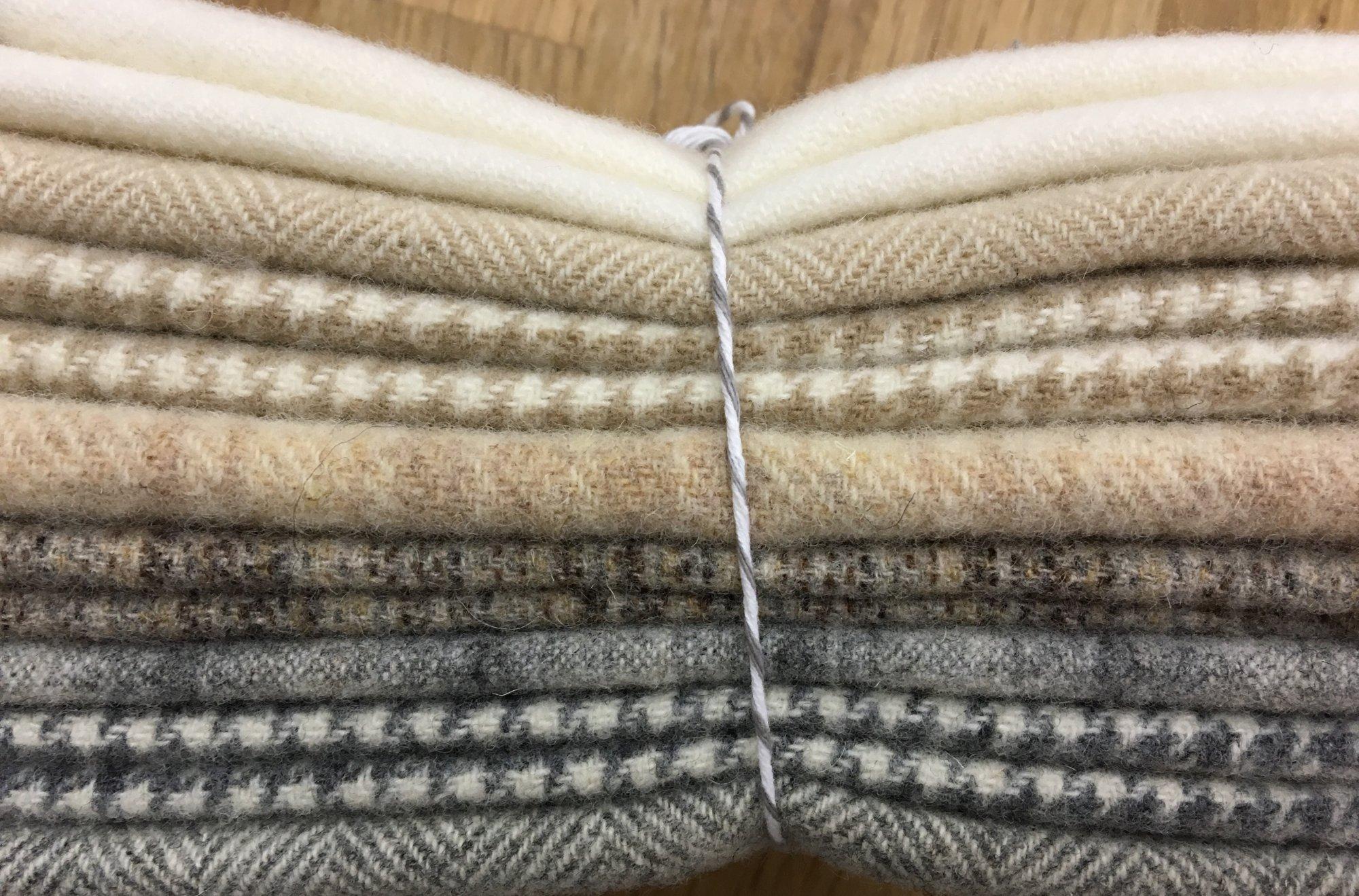 Winter Whites Wool Bundle