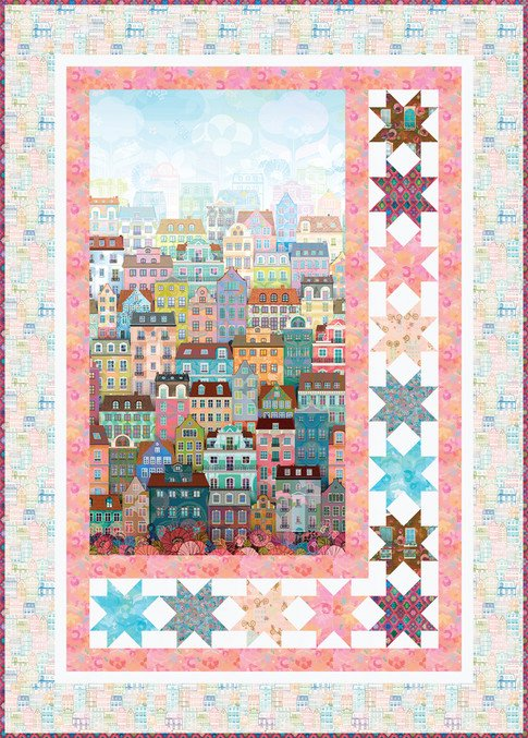 Happy Town Quilt Kit