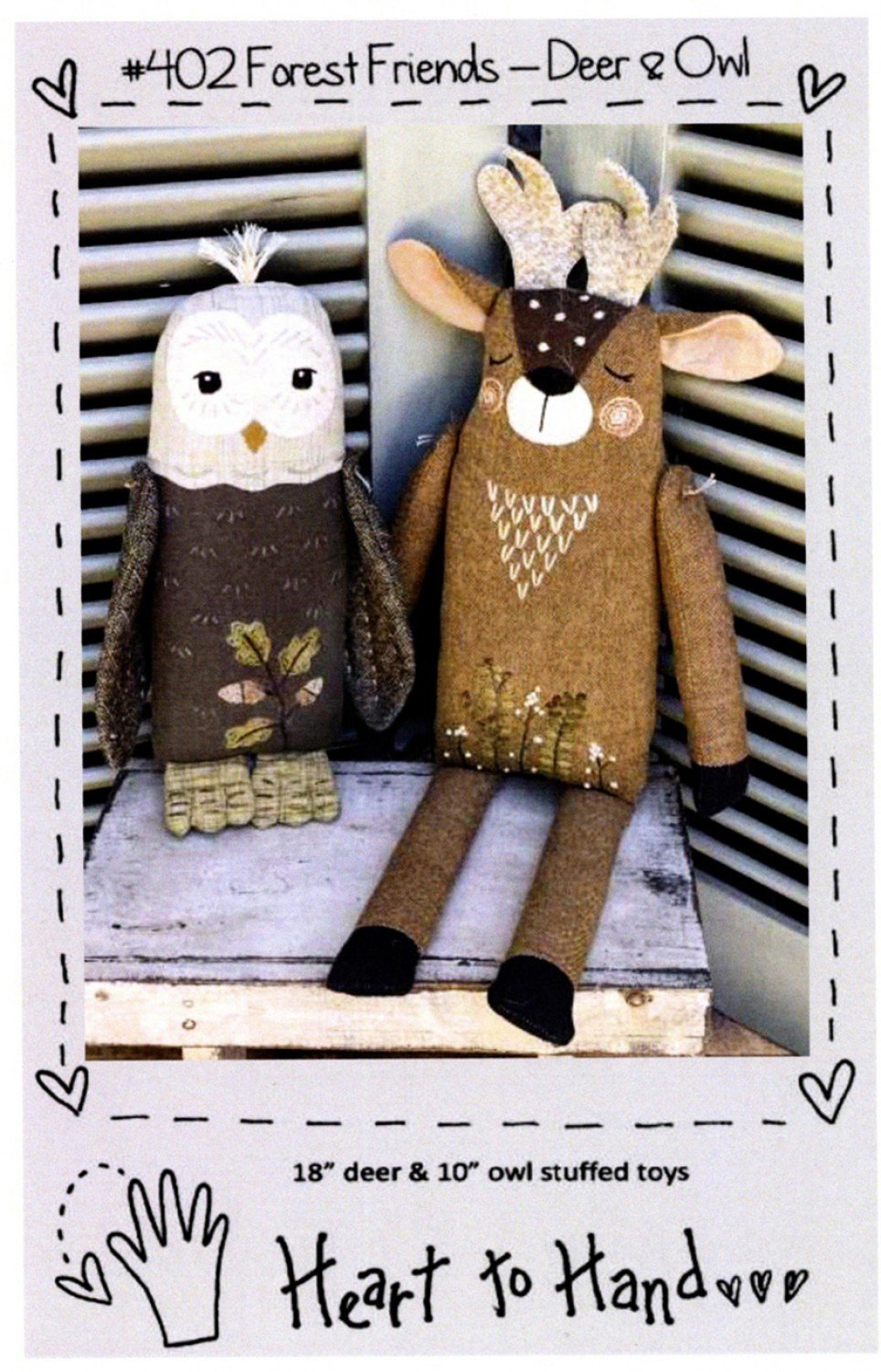 Forest Friends - - Deer and Owl Pattern