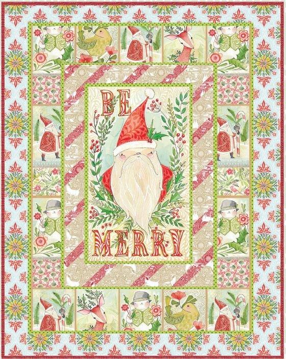 I Love Christmas Quilt Kit