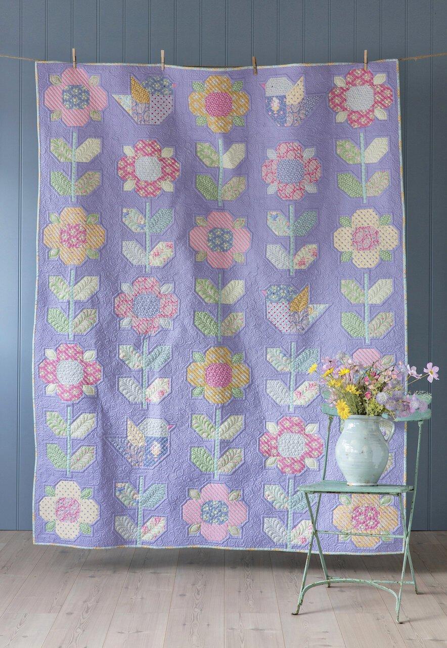 Flower Meadow Quilt Kit