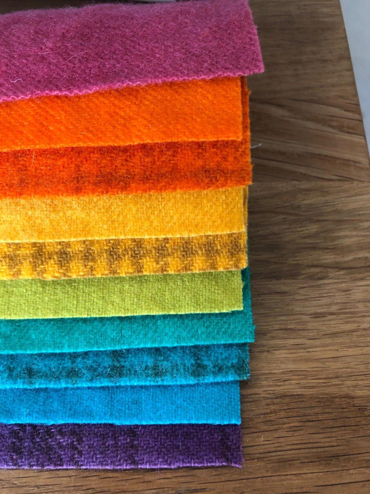 Wool Charm Pack - Brights