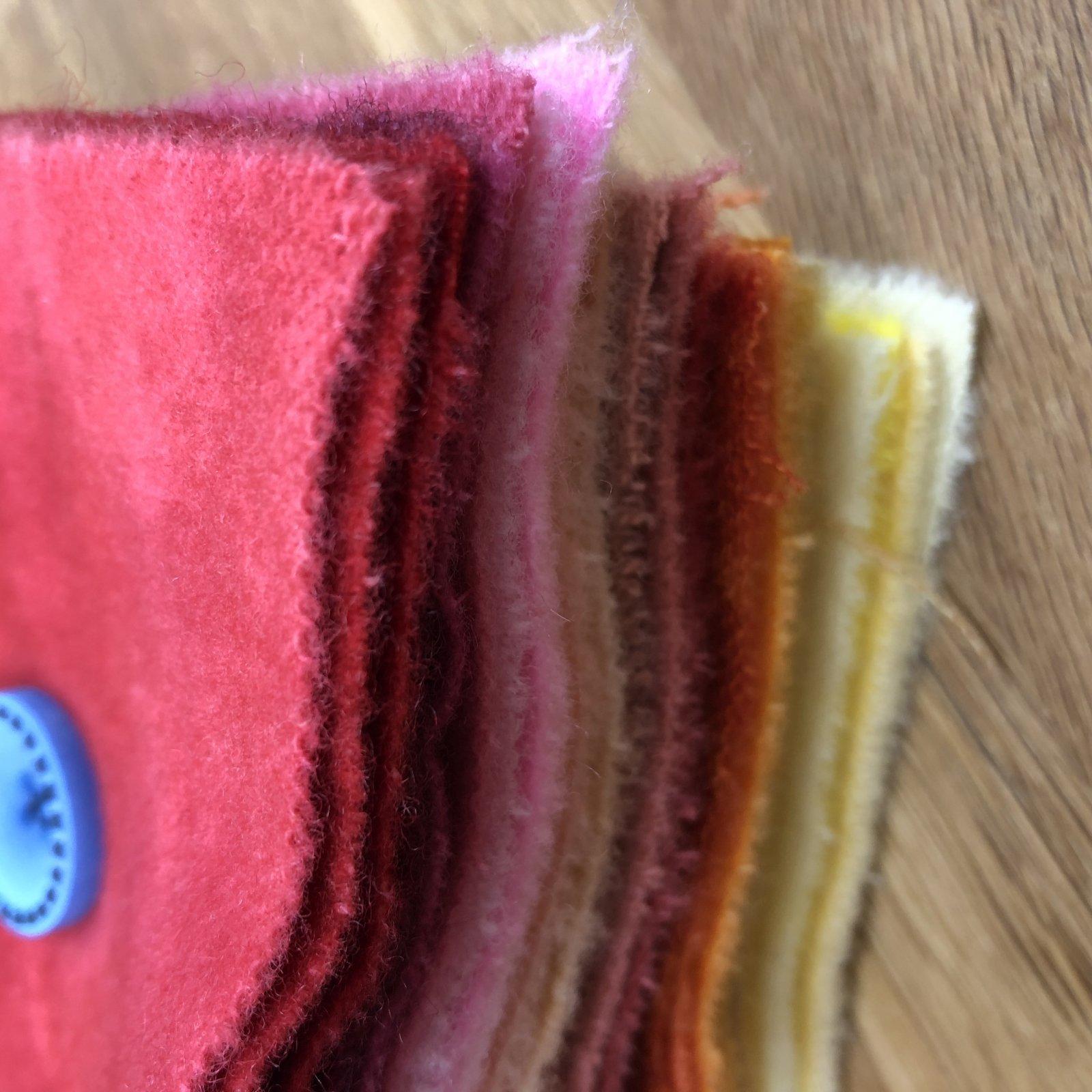 Warm Wool 5 Squares