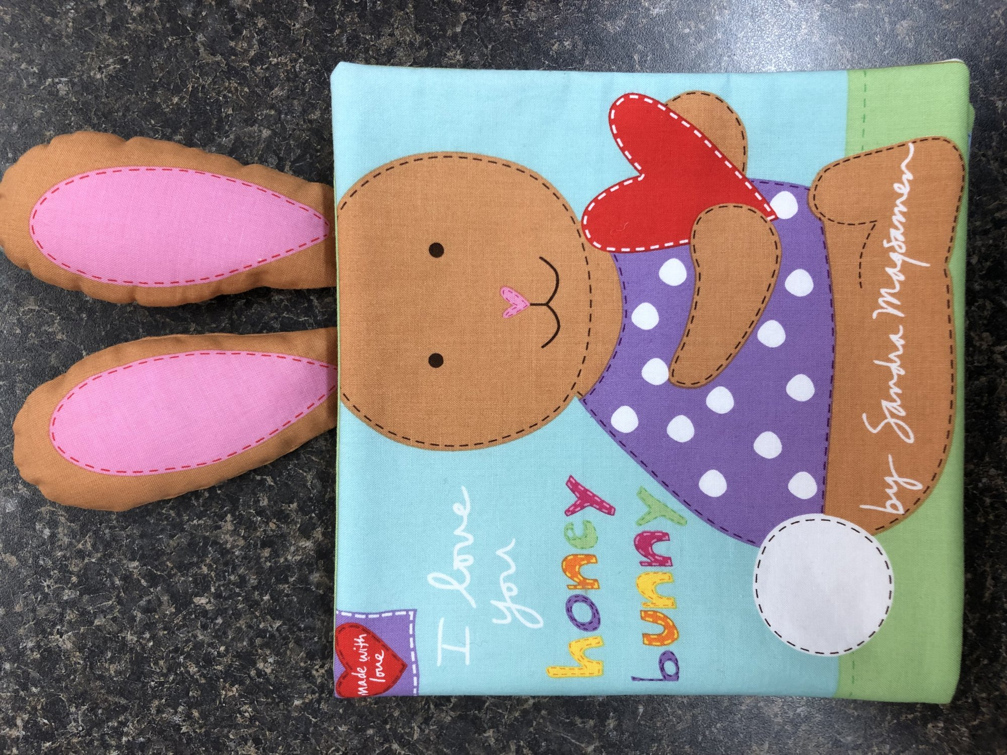 Huggable and Lovable Holiday - Bunny Book