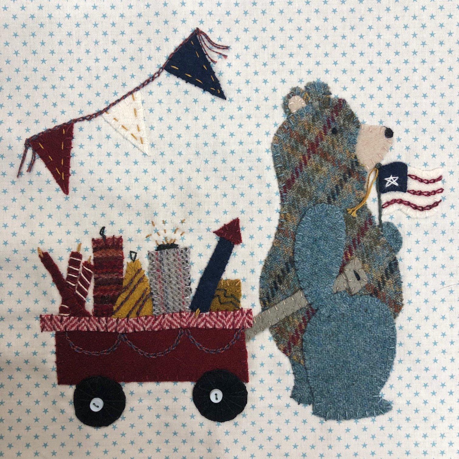 Beary Patriotic - Wooly Block Adventure Wool Kit