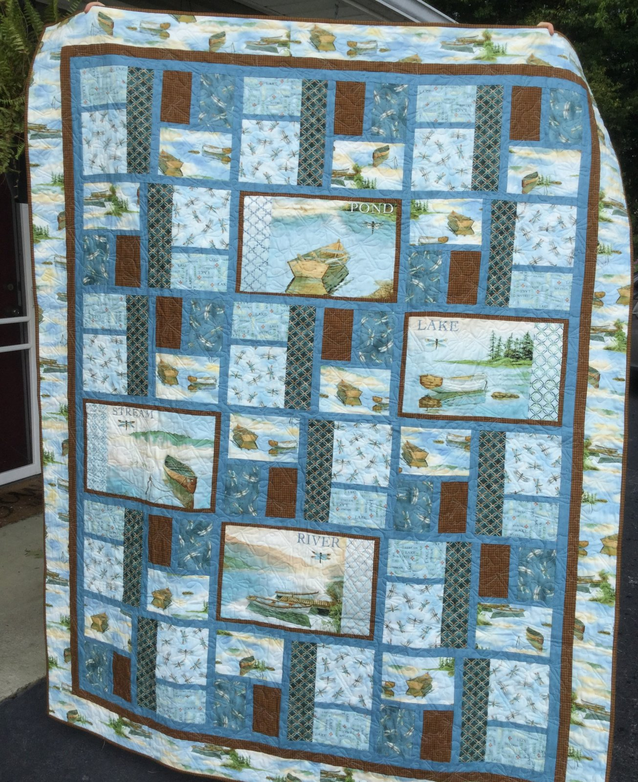 Tranquility Quilt Kit