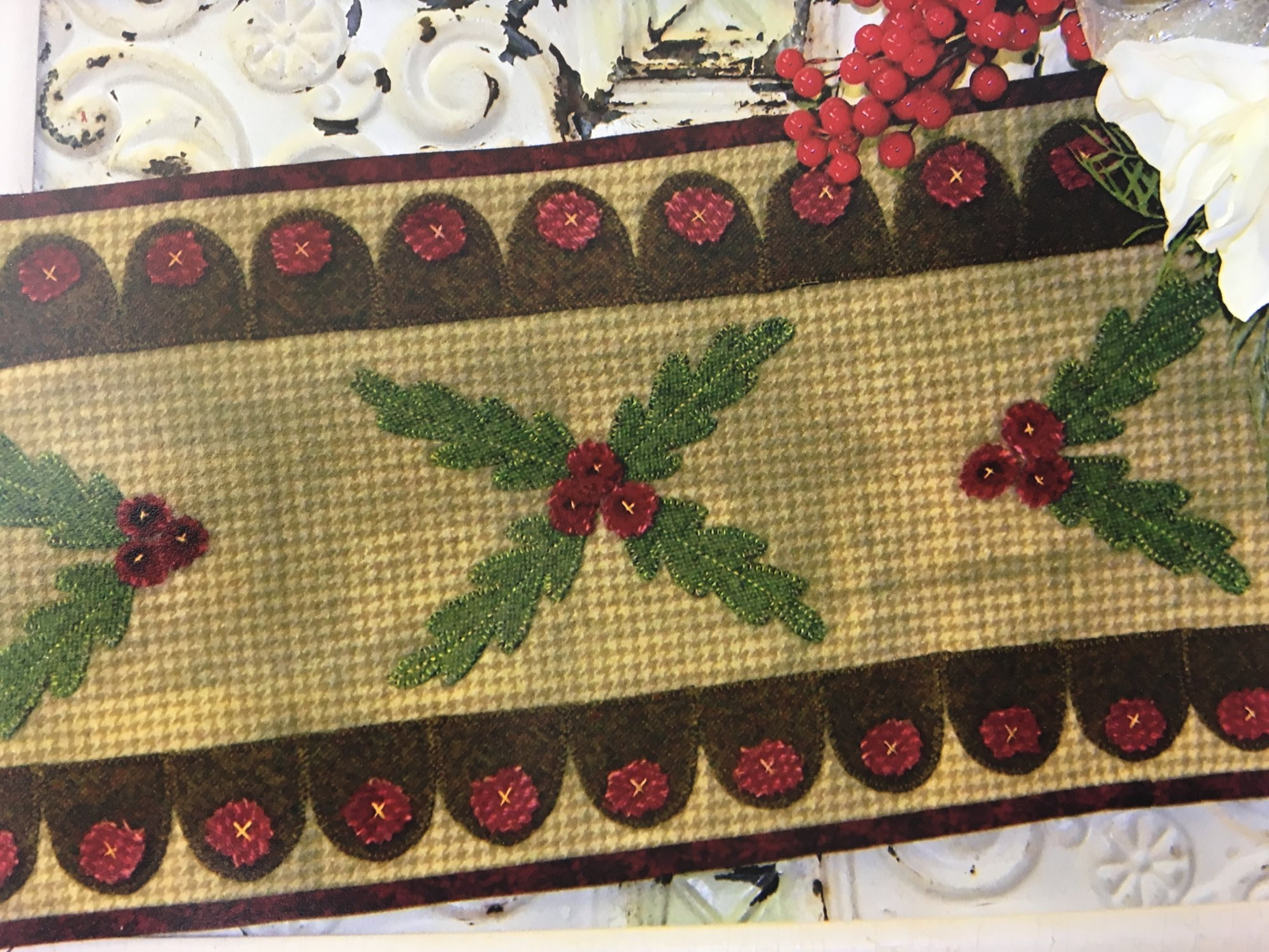 Elegant quilts country charm applique designs in cotton and wool