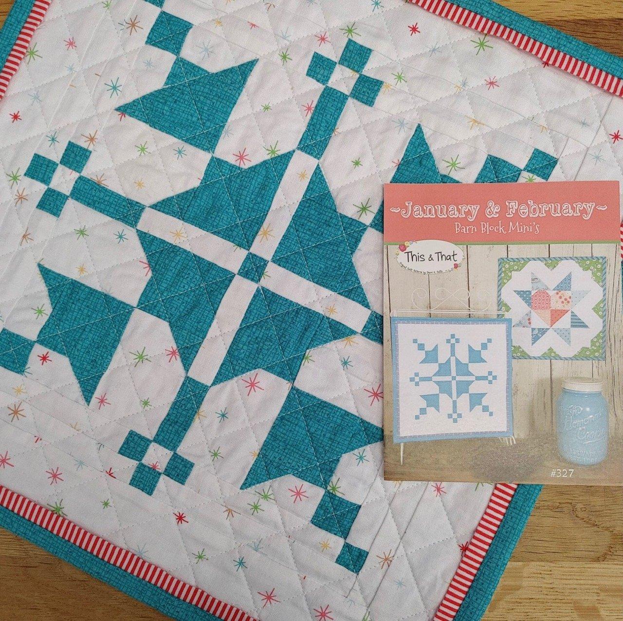 Barn Block Mini January Kit