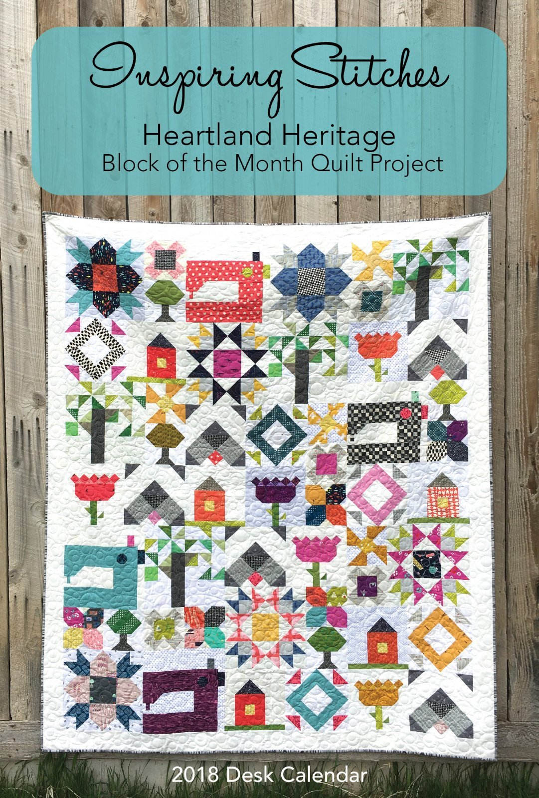 Heartland Heritage Block of the Month Calendar