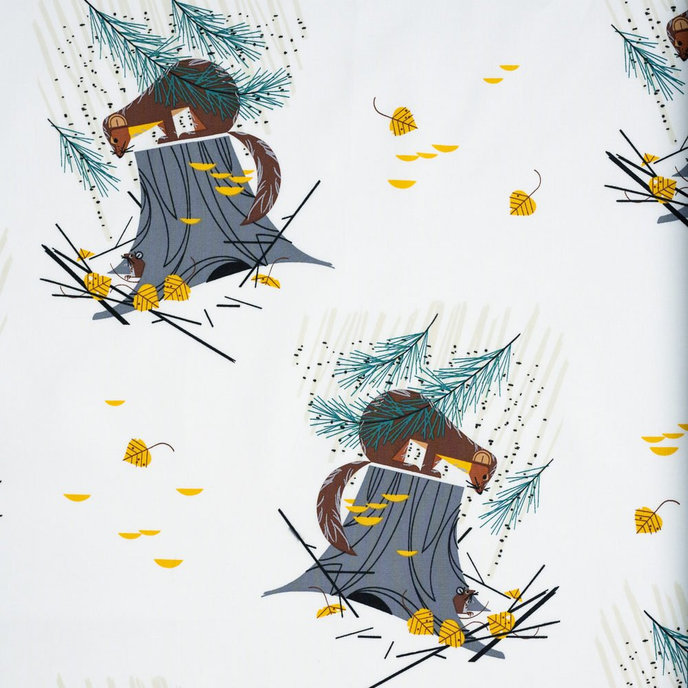 Charley Harper Holidays 2020 - Mischief Maker of the Woods