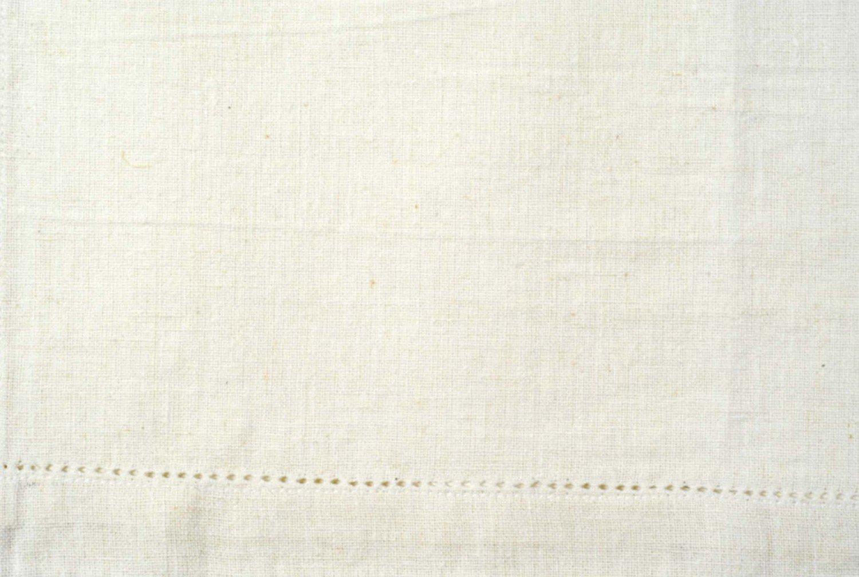 Tea Towel - Cotton Linen - White