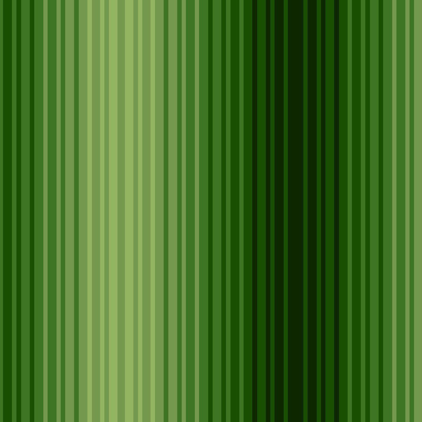Green Varigated Stripe
