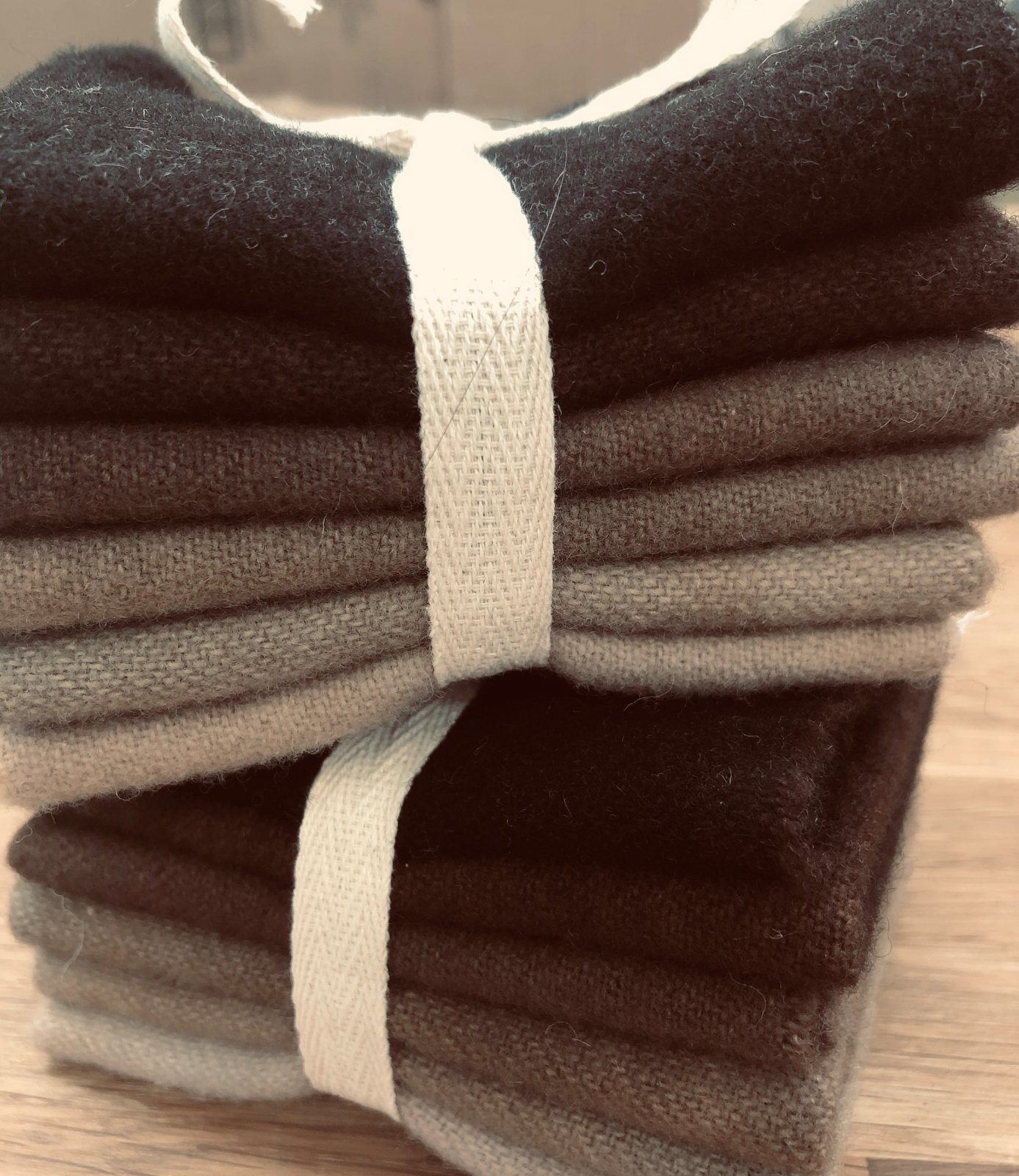 Pecan Wool Bundle