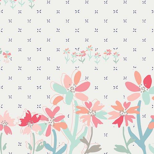 Gathering Blooms - Border Print