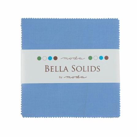 Bella Solids Charm Pack - Lt. Blue